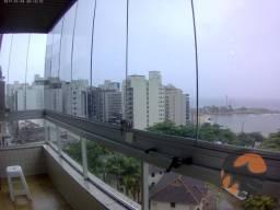Apartamento com 2 quartos para alugar, 127 m² - Centro - Guarapari/ES