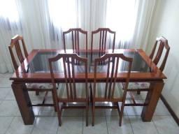 Mesa e cadeiras usadas da Rudnick