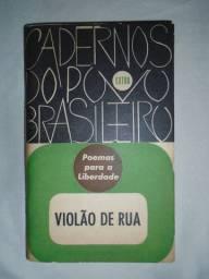 Livro Violão De Rua - Cadernos Do Povo Brasileiro De 1962