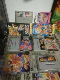 Coleção de jogos raro