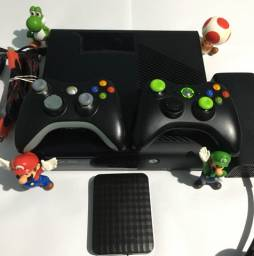 Xbox 360 Destravado+HD 1TB