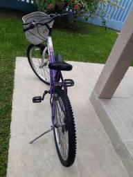 Bicicleta fem/juvenil aro 24