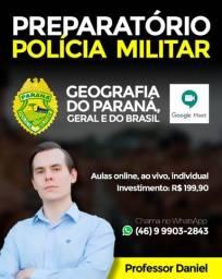 Curso Preparatório: Concurso PM/PR - Geografia