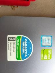 Notebook ASUS i5 8 DDR4 1TB HD PLACA DE VIDEO 2DD5