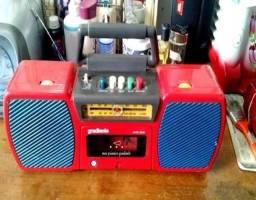 Rádio gravador meu primeiro gradiente  apenas  para  decoração