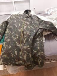 jaqueta exército original forada