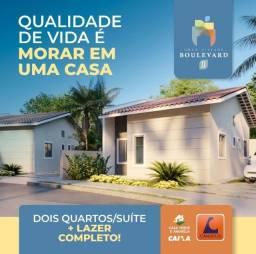Título do anúncio: A=Boulevard 2, casas com 2 quartos, 53 m² Rua General Arthur Carvalho, 58 - Turu