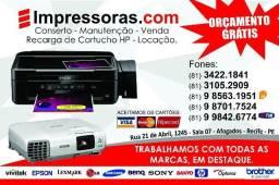 Assistência técnica de projetores e epson benq Recife:(81)34221841