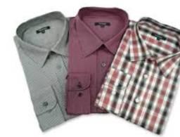 Camisas companhia do terno e colombo - Três por 50 em bom estado tamanho 2 e 3