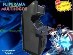 Multijogos Fliperama com vários games + Ficheiro