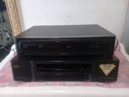 Vídeo cassete e CD 30 cada