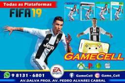 Corre Que Chegou Fifa 19 na GameCell PS4 PS3 Xbox 360