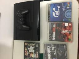 PS3 com 4 jogos 600 - TEM CONVERSA