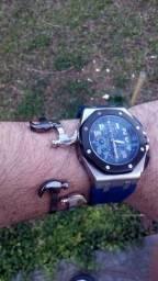 Relógio Quartz a bateria cronógrafo Royal Lebron