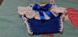 Vestido de crochê 0 há 3 meses