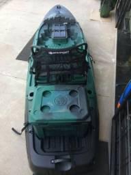Caiaque Hunter Fishing 285 - Verde Escuro / Preto