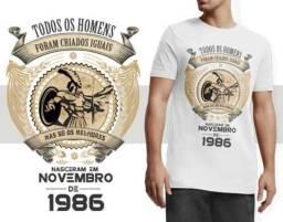 Camisa personalizada aniversário