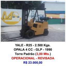 Empilhadeira - Yale - R25 - 2.500 Kgs. - 1990