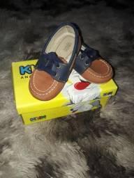 3 Pares de Sapato Infantil Masculino Tam 20