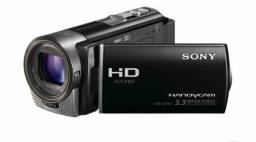 Câmera filmadora Sony HDR x160