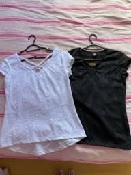 2 blusas verão