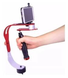 Steadycam Estabilizador para Celular e Câmera Gravação de vídeos