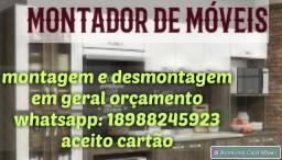 Montador de móveis Araçatuba
