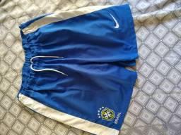 Calção seleção brasileira copa 2010 Tam g