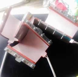 Kit resistência cônica para prensar térmica
