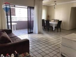 Apartamento em Boa Viagem, 124m²,