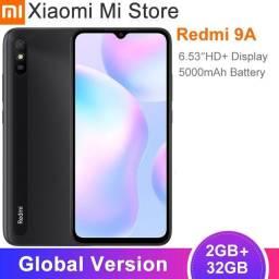 Smartphone Xaiomi Redmi 9A, 32Gb, câmera 13MP, Dual chip