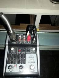 Interface de Áudio + Funçôes Mixer Modelo Xenix 302 USB - Oportunidade