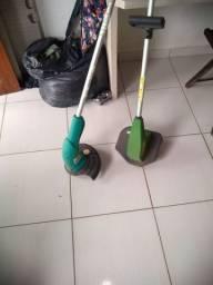 Duas máquinas de cortar grama semi novo