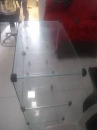 Armário de vidro perfeito só tá falando um vidro mais tá ótimo
