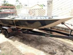 Kit Canoa de Pesca comprar usado  Luziânia