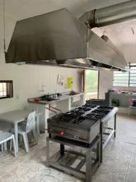 Equipamento para cozinha industrial e restaurante