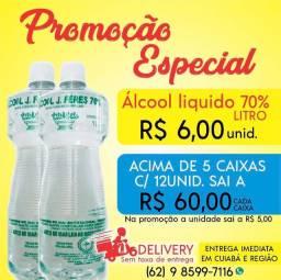 Álcool Líquido 70% - litro