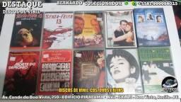 Discos de Vinil, CDs e DVDs, vários preços e gêneros
