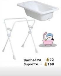 Banheira e suporte