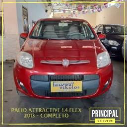 Fiat Palio Attractive 1.4 Flex 2013 Completo