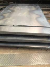 Chapas de aço carbono 1/8 3mm