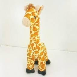 Bicho de Pelúcia Girafa Magrela 40cm