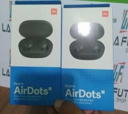 Fones de ouvido Xiaomi Airdots S Bluetooth 5.0 100% Original