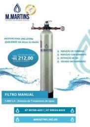 Filtro água automático