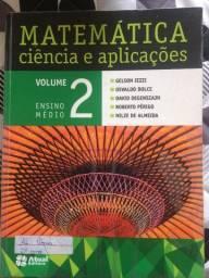 Livro Matemática - Ciência e aplicações - Gelson Iezzi Vol. 2