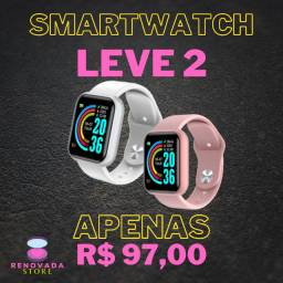 Smartwatch Relógio Digital androi e ios iPhone e Celulares