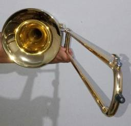 Trombone de Vara Eagle Tv-600 Sib laqueado + Case