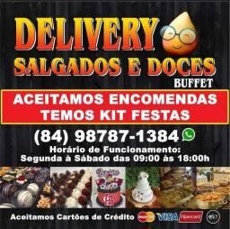 Delivery Salgados e Doces Buffet