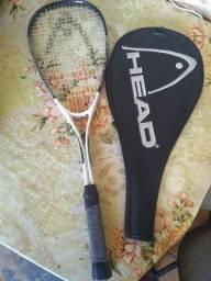 Raquete+raqueteira da HEAD