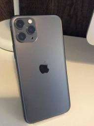 "IPhone 11 Pro Max 256GB Cinza-espacial 6,5"" iOS 4G + Wi-Fi Câmera 12MP - Apple"